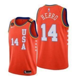 Miami Heat Tyler Herro 2020 USA Team Jersey